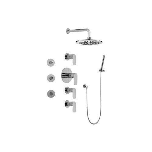Full Thermostatic Shower System (Rough & Trim)