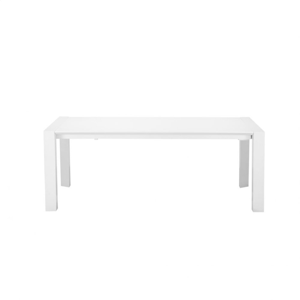 Meridian Extension Dining Table White