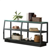 Kali Console Table Textured Black finish