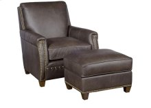 Grant Leather Chair, Grant Leather Ottoman