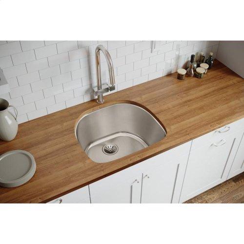 "Elkay Lustertone Classic Stainless Steel 23-5/8"" x 21-1/4"" x 10"", Single Bowl Undermount Sink"