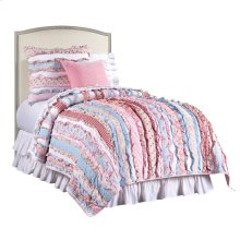 Clementine Court-Upholstered Headboard, Twin