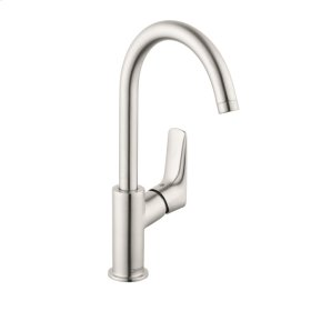 Brushed Nickel Logis 210 Single-Hole Faucet, 1.2 GPM