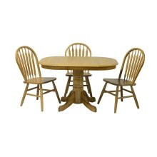 Laminated, Pedestal Table