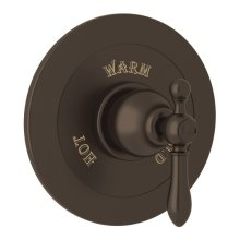 Tuscan Brass Arcana Integrated Volume Control Pressure Balance Trim Without Diverter with Arcana Series Only Classic Metal Lever