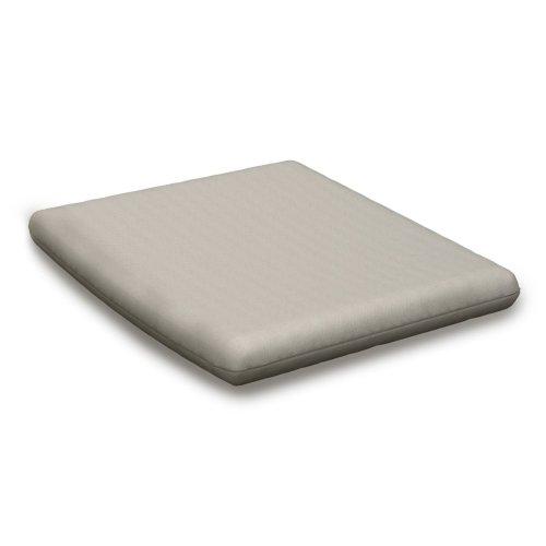 "Sancy Shale Seat Cushion - 16.25""D x 17.5""W x 2.5""H"