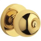 Lifetime Polished Brass 5215 Modern Entry Knob Product Image