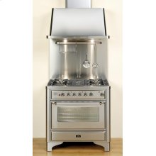 """Chrome on Graphite 36"""" Majestic Dual Fuel Range***FLOOR MODEL CLOSEOUT PRICING***"""
