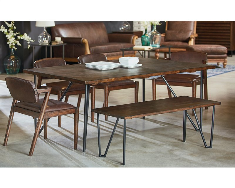 Barndoor 6 Ft Hairpin Dining Table