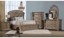 Arch Salvage Cady Nightstand - Parchment