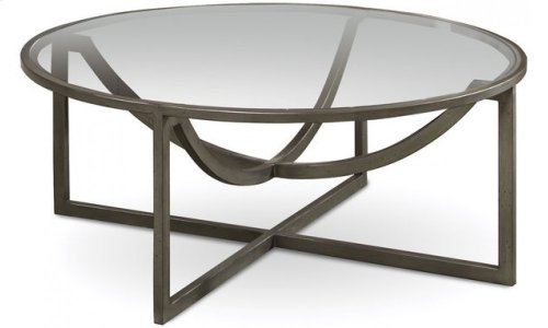 Epicenters Williamsburg Round Cocktail Table