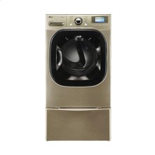 7.4 cu.ft. Ultra-Large Capacity SteamDryer™ with Color LCD Display and Touch Buttons (Gas)