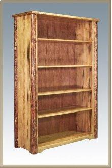 Glacier Country Log Bookcase