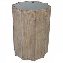 Emmeline Burnt Oak Side Table