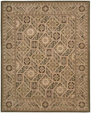 Nourison 2000 2237 Multicolor Rectangle Rug 7'9'' X 9'9''