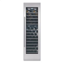"24"" STAINLESS STEEL FREEDOM WINE COLUMN W/ MASTERPIECE HANDLE"