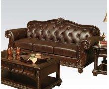 Top+split Leather Sofa