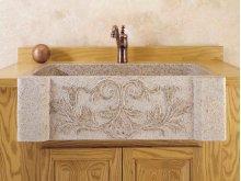 Versailles Farmhouse Sink Beige Granite