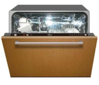 """24"""" Fully Integrated Compact Dishwasher"""