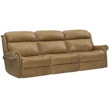 Evan Power Motion Sofa in #44 Antique Nickel