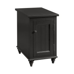Ebony Reclinermate Accent Table
