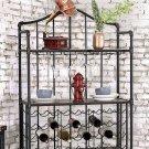 Brixton Ii Wine Cabinet W/ Foldable Table Product Image