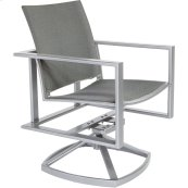 Flex Comfort Swivel Rocker Dining Arm Chair