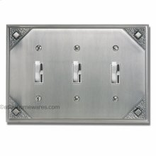 Craftsman Triple Toggle Switch Plate