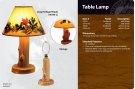 Table Lamp w/o shade Product Image