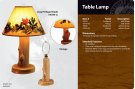 Table Lamp w/o shade Product Image