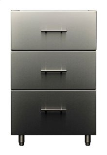 Signature 21-inch Outdoor Base Cabinet - 3 Drawers