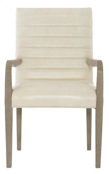 Mosaic Arm Chair in Dark Taupe (373)