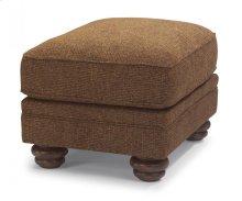 Bexley One-Tone Fabric Ottoman