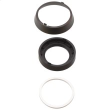 Venetian Bronze Trim Ring, Base & Gasket