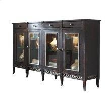 Soho Sideboard with Glass Doors