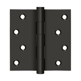 """4""""x 4"""" Square Hinges Residential / Zig-Zag - Oil-rubbed Bronze"""
