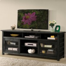 Perspectives - 74-inch TV Console - Ebonized Acacia Finish