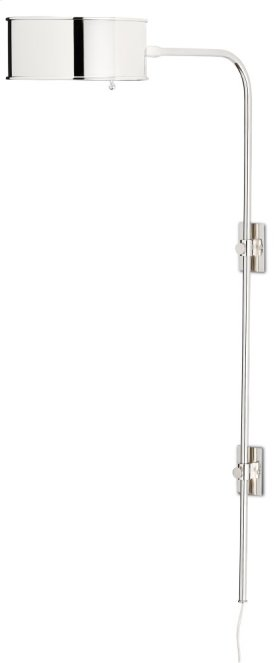 Overture Nickel Wall Sconce