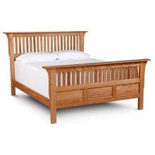 Mission Paneled Slat Bed, California King