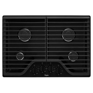 WHIRLPOOL30 inch Gas Cooktop with Multiple SpeedHeat Burners
