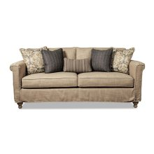 Slipcovered Sofa with Shelter Arm