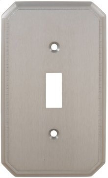 Single Traditional Switchplate