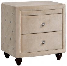 "Diamond Night Stand - 27.5""L x 19""D x 28""H"