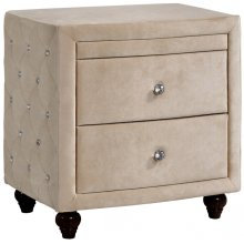 "Diamond Night Stand - 27.5"" W x 19"" D x 28"" H"