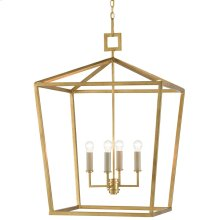 Denison Gold Large Lantern