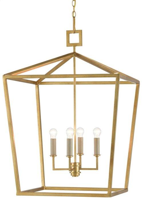 Denison Gold Large Lantern