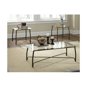 Ashley FurnitureSIGNATURE DESIGN BY ASHLEOccasional Table Set (3/CN)