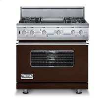 "36"" Custom Sealed Burner Dual Fuel Electronic Control Range, Propane Gas"