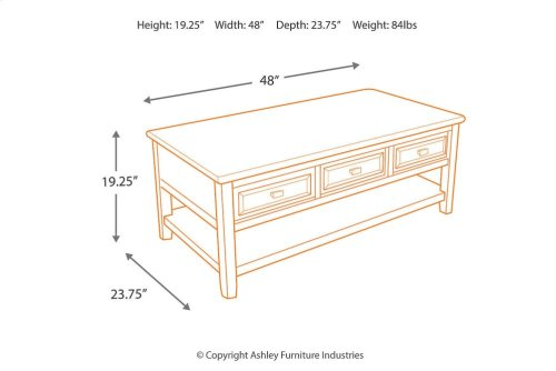 RED HOT BUY- BE HAPPY ! Rectangular Cocktail Table