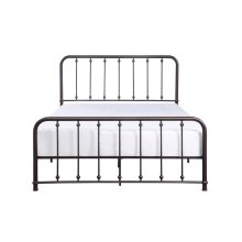 Queen Metal Platform Bed